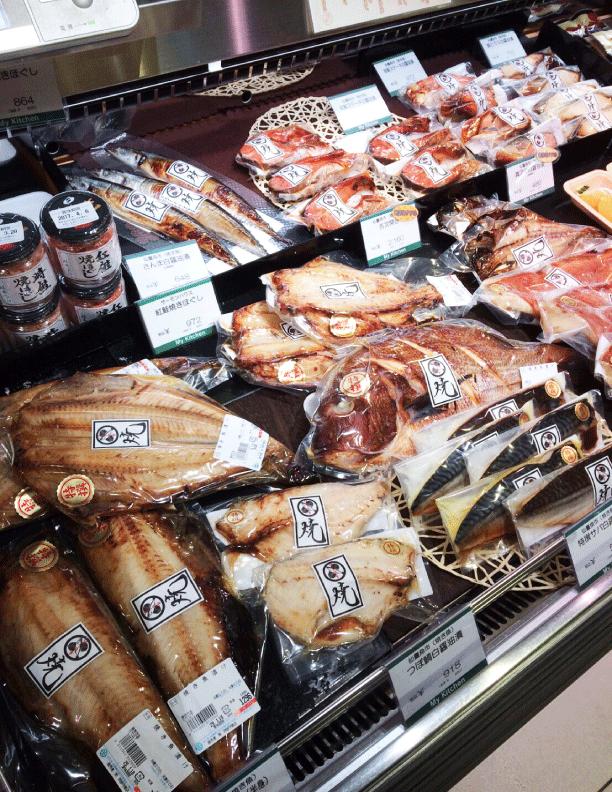 藤崎百貨店内(仙臺魚市)