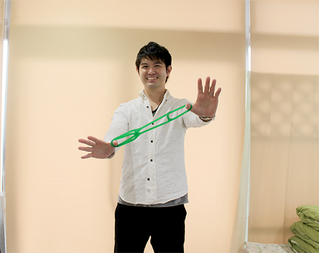 仙台笑顔男子「ディサービス ラヴィフォーレ」の佐藤俊晃