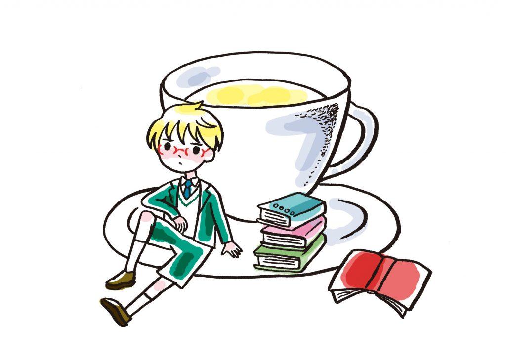 いちじく茶イラスト