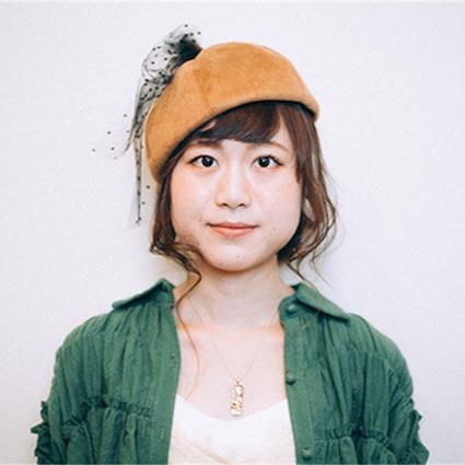 ヘアアレンジ_秋帽子完成01