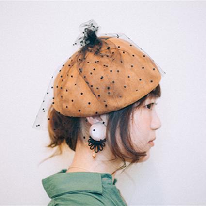 ヘアアレンジ_秋帽子完成03