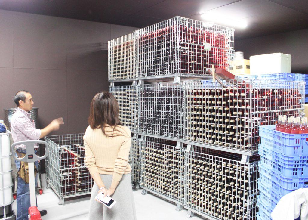 新作ワイン見学