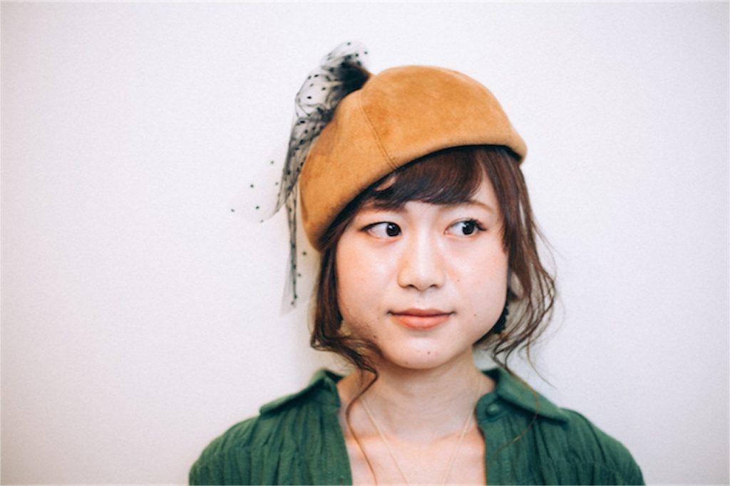 ヘアアレンジ_秋帽子top