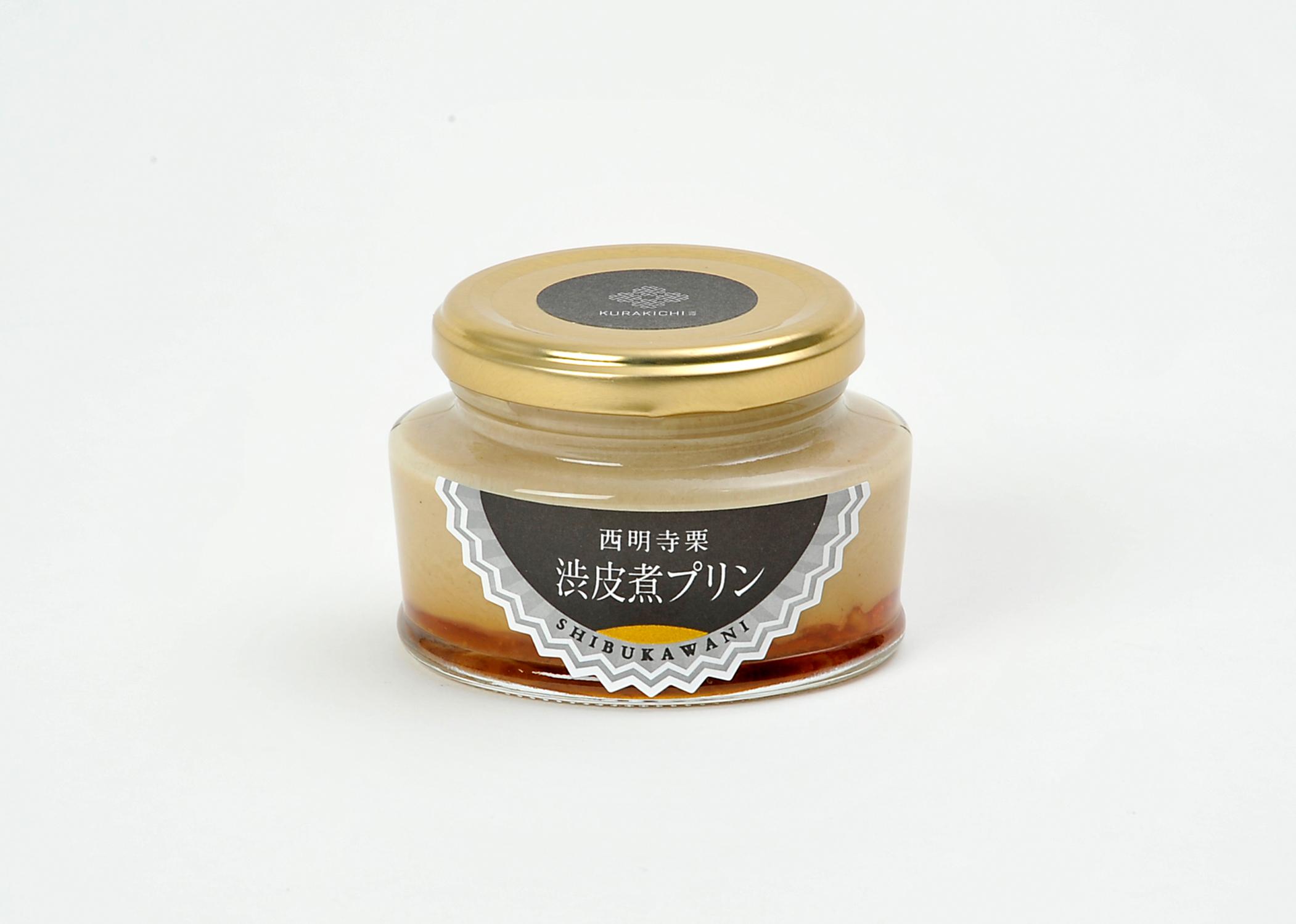 渋皮煮プリン01