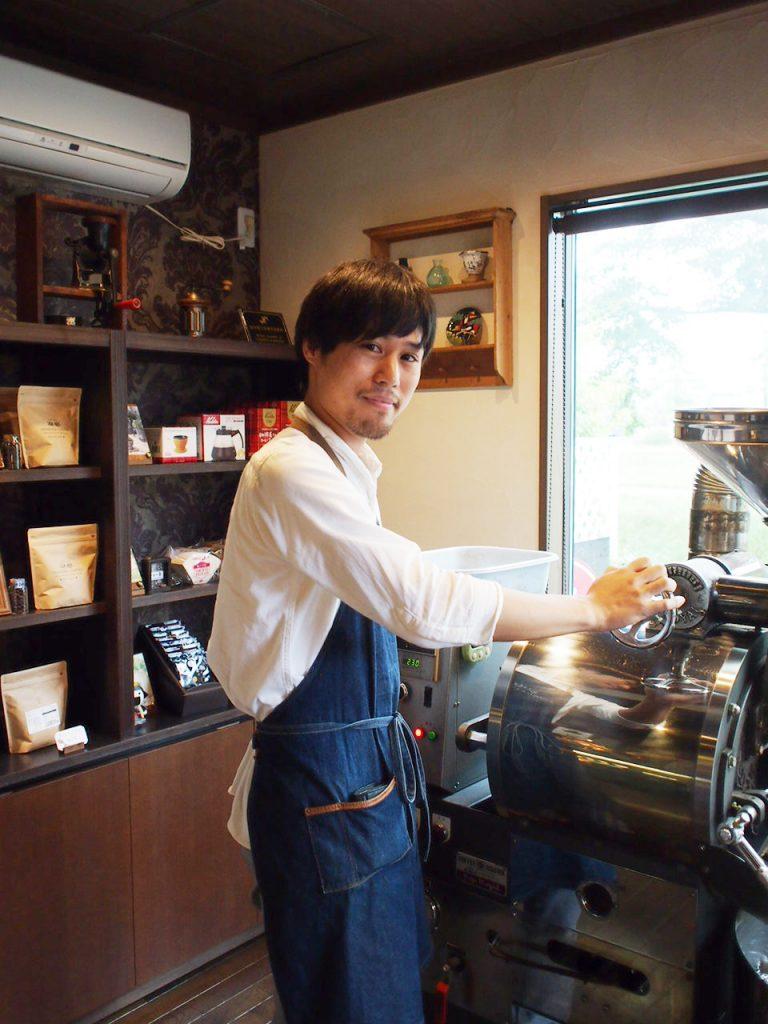 仙台カフェ男子「自家焙煎珈琲豆工房 ほの香」